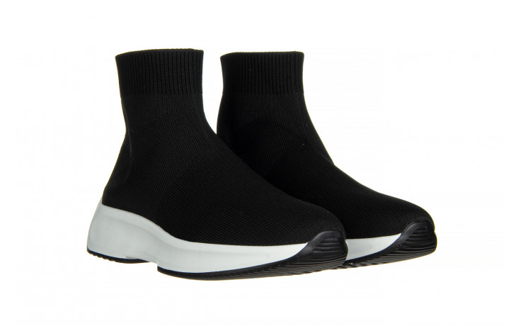 Sneakersy sca'viola l-16 black 047195, czarny, materiał - jesień-zima 2020/2021 1