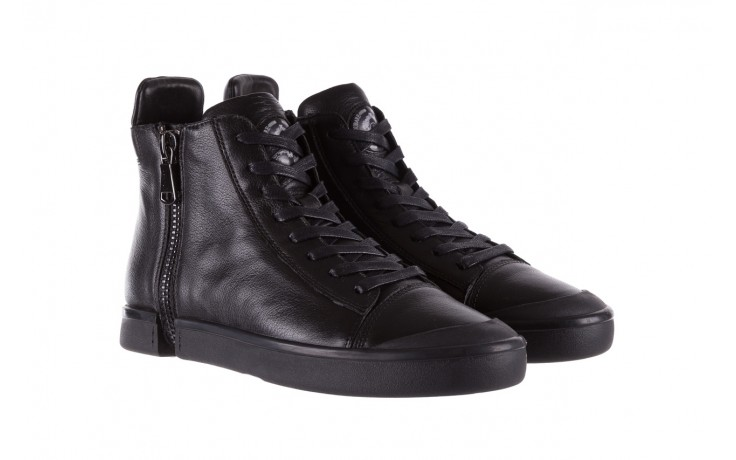 Sneakersy john doubare m5761-1 black, czarny , skóra naturalna  - trendy - mężczyzna 1