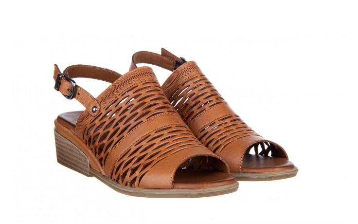 Sandały bayla-161 061 1600 tan 161201, brąz, skóra naturalna  - bayla - nasze marki 1