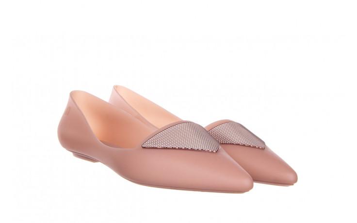 Baleriny melissa pointy iv ad pink 010349, róż, guma - kobieta 1