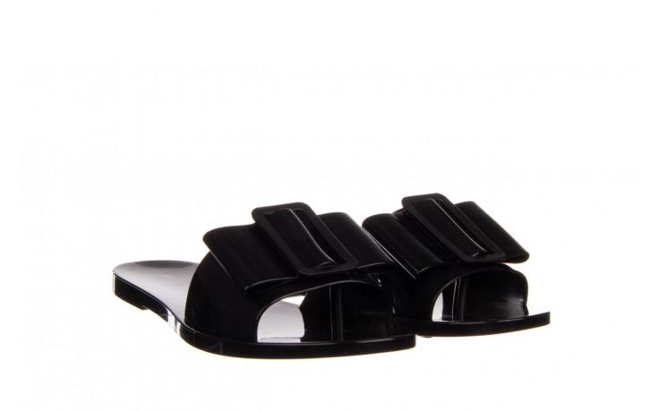 Klapki melissa babe ad black black 010337, czarny, guma - klapki - buty damskie - kobieta 1