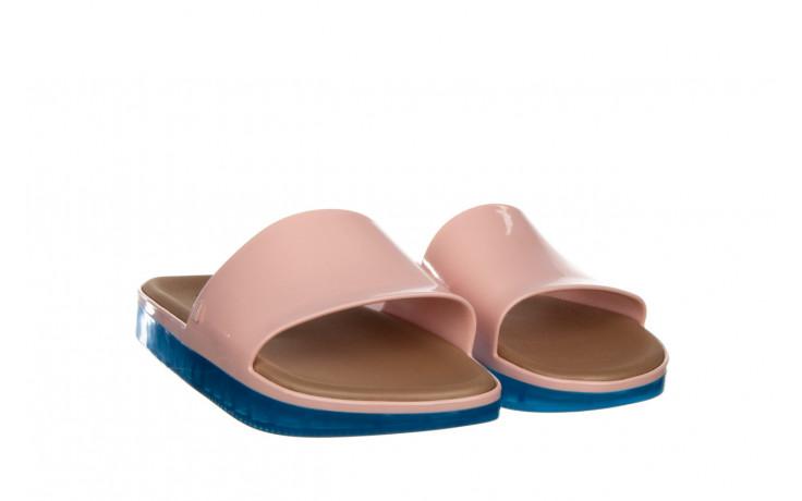 Klapki melissa beach slide next gen ad pink blue 010339, róż, guma - klapki - buty damskie - kobieta 1