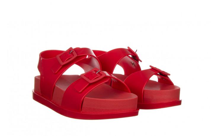 Sandały melissa wide platform ad red 010363, czerwony, guma - nowości 1