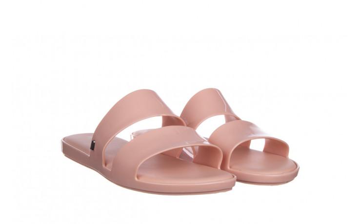 Klapki melissa color pop ad pink 010343, róż, guma - kobieta 1