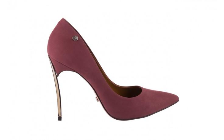 Szpilki bayla-067 118706l jasnofioletowe, skóra naturalna - zamszowe - szpilki - buty damskie - kobieta