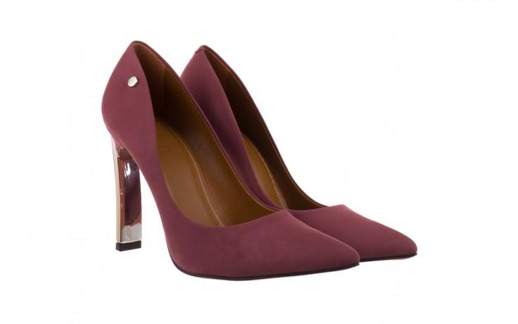 Szpilki bayla-067 118706l jasnofioletowe, skóra naturalna - zamszowe - szpilki - buty damskie - kobieta 1