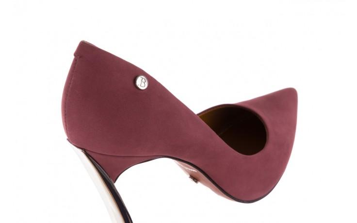 Szpilki bayla-067 118706l jasnofioletowe, skóra naturalna - zamszowe - szpilki - buty damskie - kobieta 5