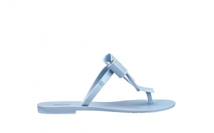 Klapki melissa t bar v ad frosted blue, niebieski, guma - melissa - nasze marki