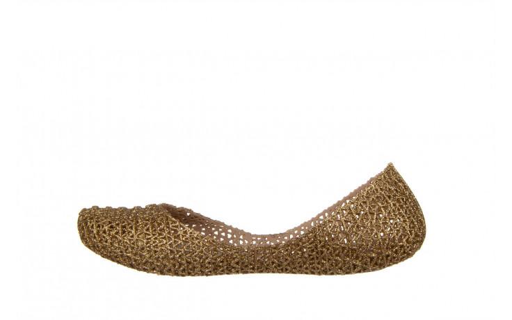 Baleriny melissa campana papel vii ad beige glitter 21 010364, złoty, guma - baleriny - melissa - nasze marki 2