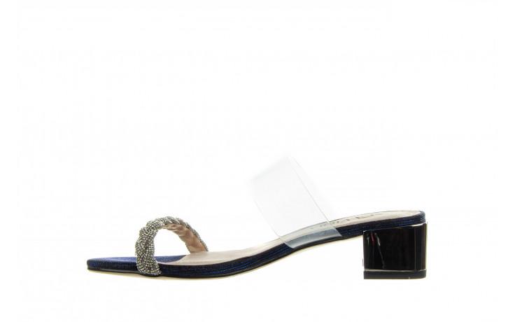 Klapki sca'viola b-204 d blue 047179, granat, silikon  - klapki - buty damskie - kobieta 2