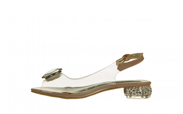 Sandały sca'viola g-15 l pink 21 047182, róż, silikon - na obcasie - sandały - buty damskie - kobieta 2