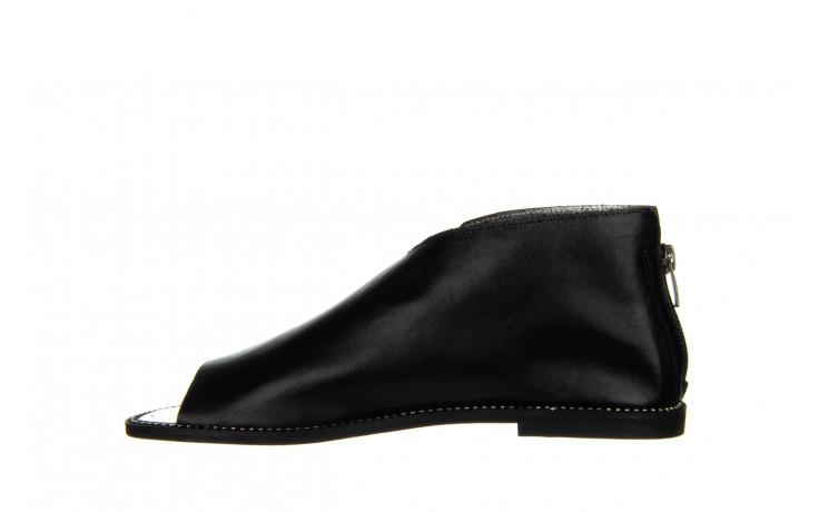 Sandały bayla-194 9768 08 czarny 194008, skóra naturalna  - nowości 2