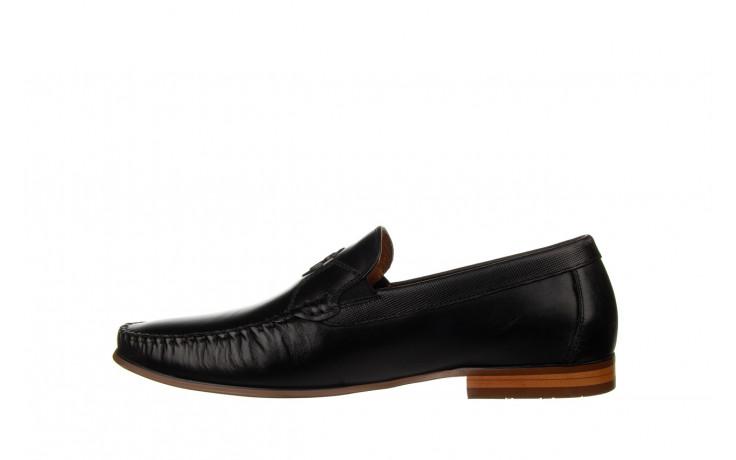 Mokasyny john doubare ygc-z2154-301-10 black 104174, czarny, skóra naturalna  - mokasyny i espadryle - buty męskie - mężczyzna 2