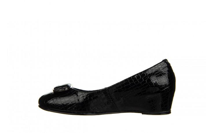 Baleriny bayla-187 105 black 187013, czarny, skóra naturalna  - bayla - nasze marki 2