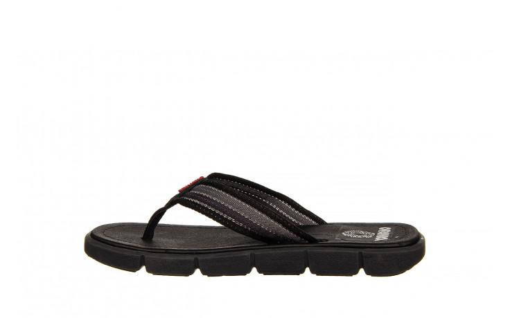 Klapki azaleia 451-op450 black, czarny, materiał  - azaleia - nasze marki 2