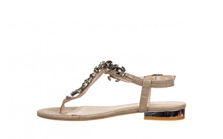 Sandały bayla-018 15472-x2 light grey, szary, skóra naturalna  - bayla - nasze marki 2
