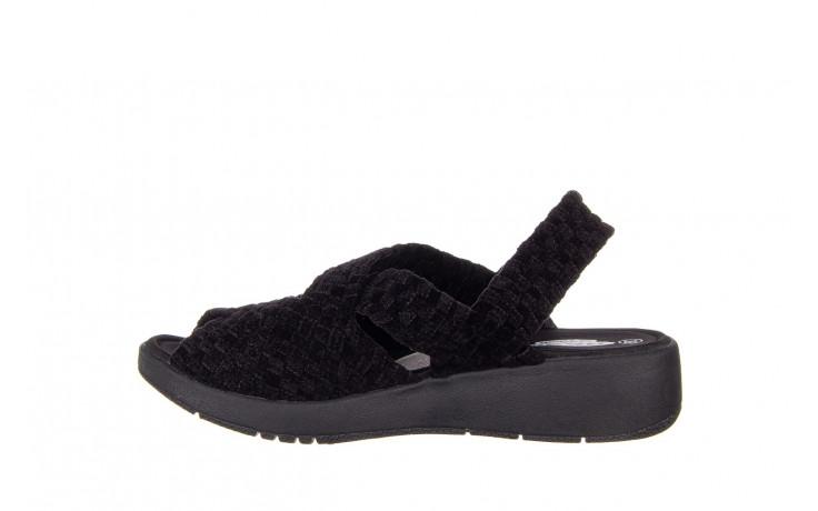 Sandały rock minily black cashmere 032847, czarny, materiał  - rock - nasze marki 2