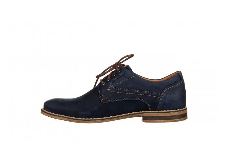 Półbuty bayla-081 831 juma blue ax, granat, skóra naturalna  - wizytowe - półbuty - buty męskie - mężczyzna 2