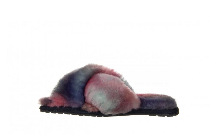 Kapcie emu mayberry tie dye sunset purple 119136, fiolet, futro naturalne  - jesień-zima 2020/2021 2