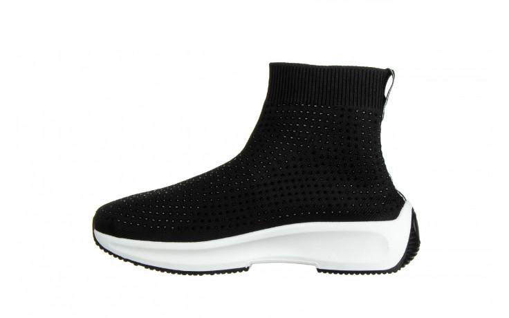 Sneakersy sca'viola l-15 black 047194, czarny, materiał - trendy - kobieta 2