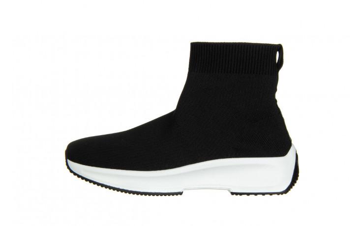 Sneakersy sca'viola l-16 black 047195, czarny, materiał - jesień-zima 2020/2021 2