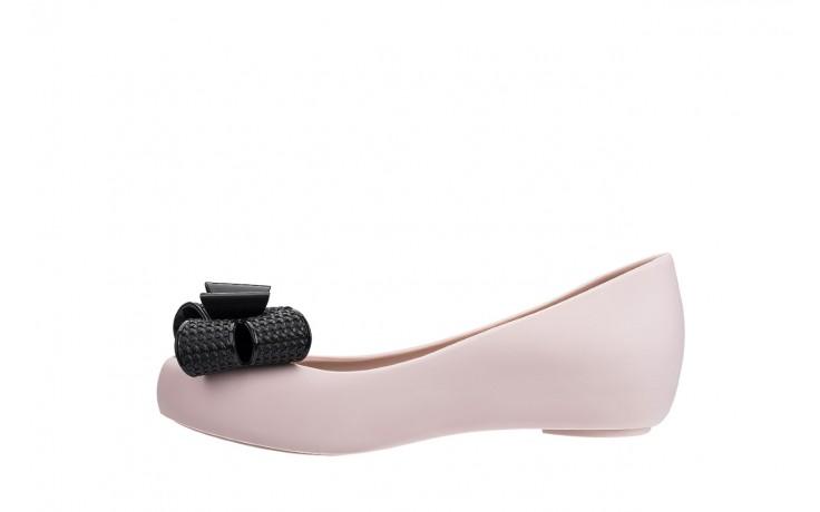 Baleriny melissa ultragirl sweet xv ad pink black, róż/czarny, guma - melissa - nasze marki 2