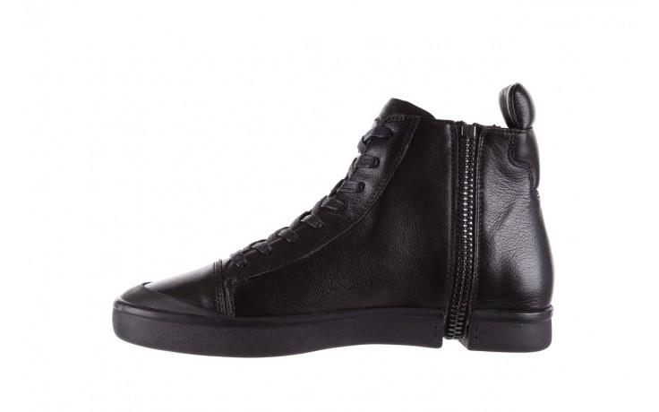 Sneakersy john doubare m5761-1 black, czarny , skóra naturalna  - trendy - mężczyzna 2