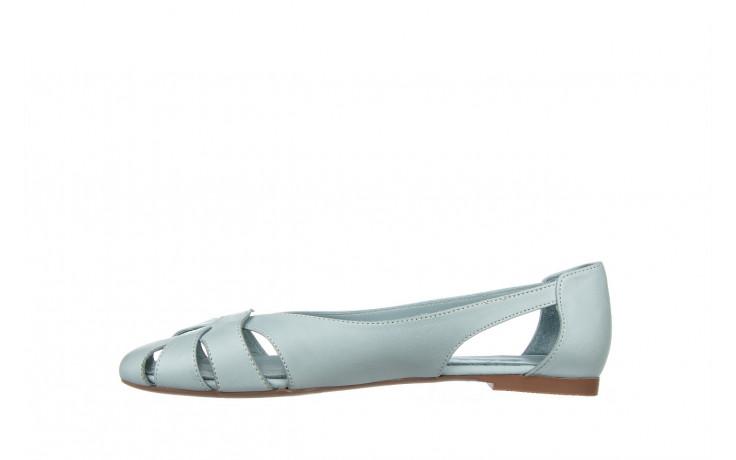 Baleriny bayla-161 138 1560 fresh 161220, niebieski, skóra naturalna - skórzane - baleriny - buty damskie - kobieta 2