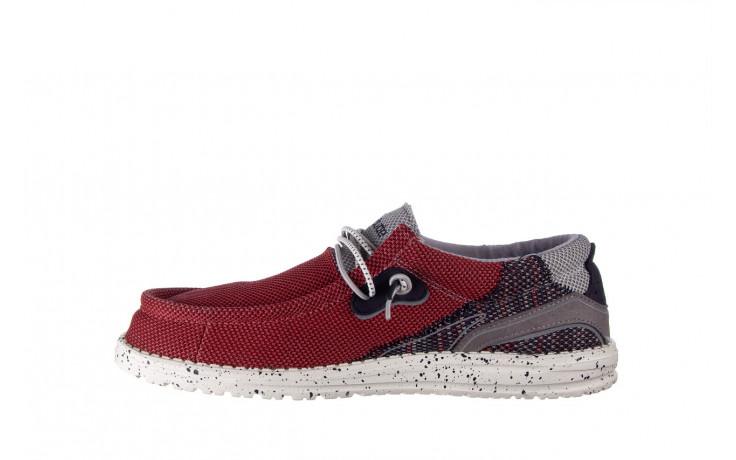 Półbuty heydude wally hawk lava grey 003200, czerwony, materiał - trendy - mężczyzna 2