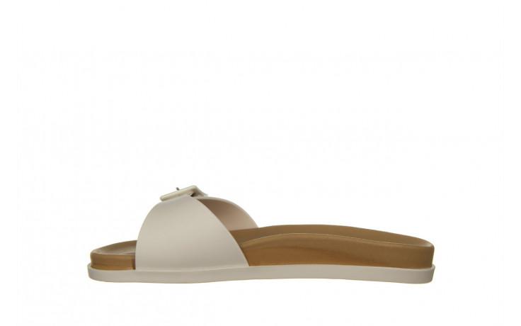 Klapki melissa wide slide ad white beige 010367, biały, guma - nowości 2