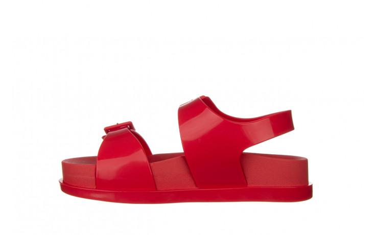 Sandały melissa wide platform ad red 010363, czerwony, guma - nowości 2