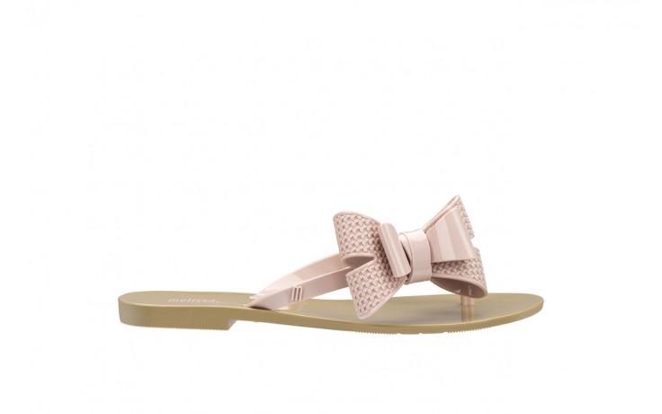 Klapki melissa harmonic bow v ad beige pink, beż/róż, guma - melissa - nasze marki