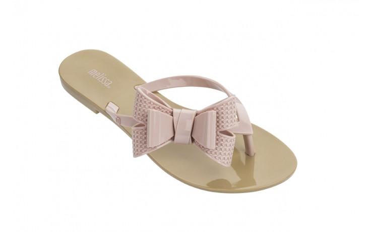 Klapki melissa harmonic bow v ad beige pink, beż/róż, guma - melissa - nasze marki 1