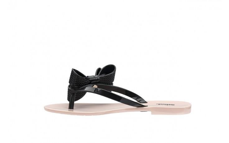 Klapki melissa harmonic bow v ad pink black, róż/czarny, guma 2