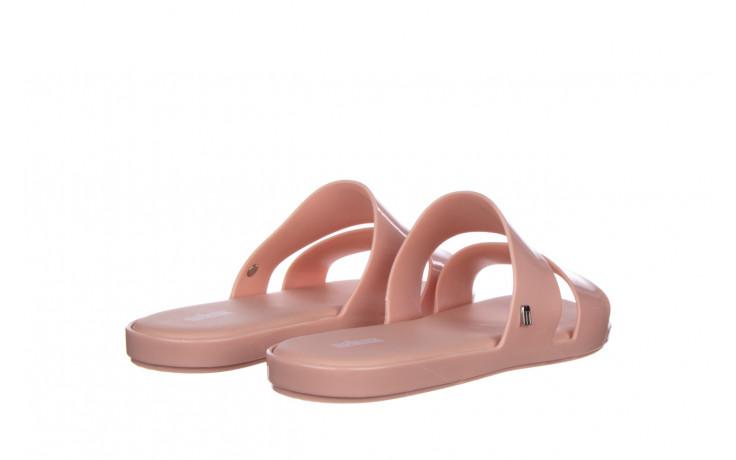 Klapki melissa color pop ad pink 010343, róż, guma - kobieta 3