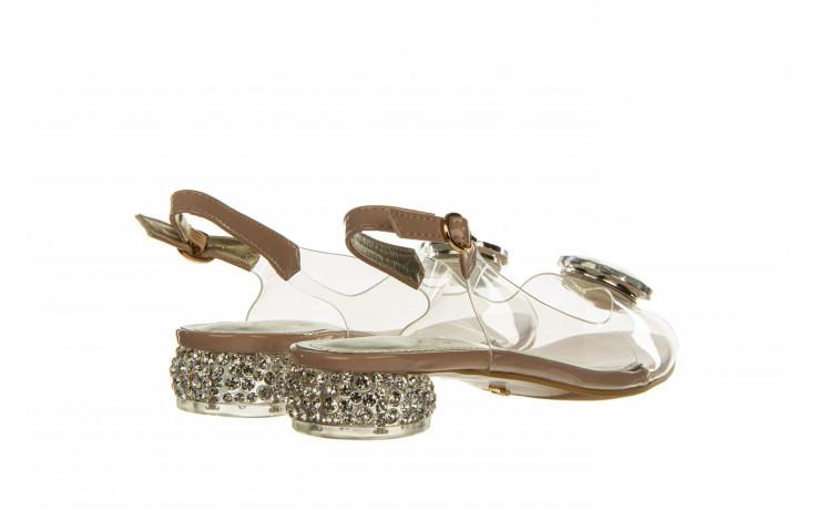 Sandały sca'viola g-15 l pink 21 047182, róż, silikon - na obcasie - sandały - buty damskie - kobieta 3
