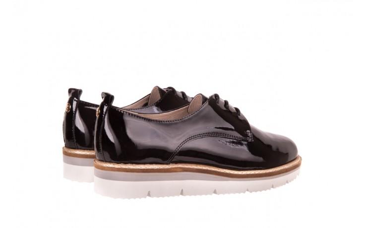 Półbuty bayla-018 1822-x1 black 018530, czarny, skóra naturalna lakierowana  - bayla - nasze marki 3