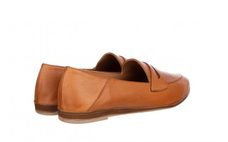 Półbuty bayla-161 138 434 coconut 161199, brąz, skóra naturalna  - skórzane - półbuty - buty damskie - kobieta 3