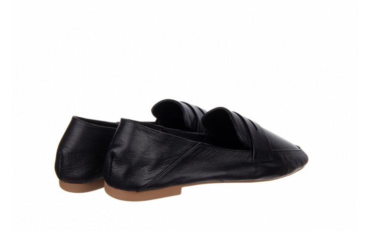 Półbuty bayla-161 138 4060 black 161222, czarny, skóra naturalna  - wsuwane - półbuty - buty damskie - kobieta 3
