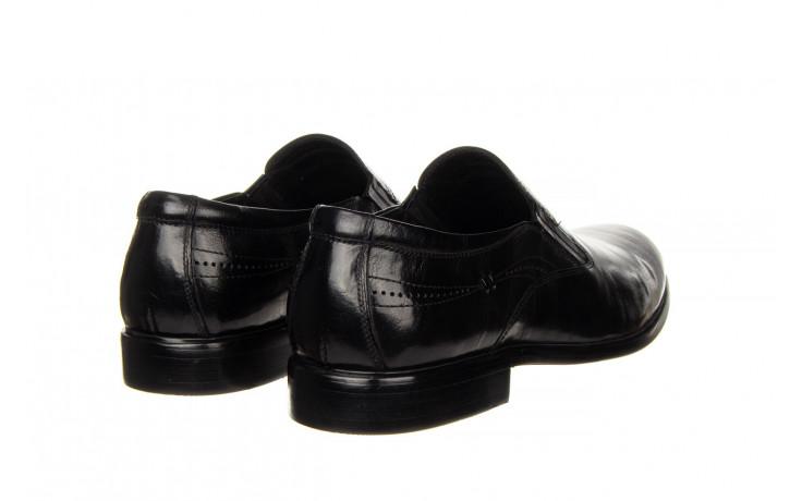 Półbuty john doubare ygc-z253-351-1 black 104176, czarny, skóra naturalna  - nowości 3
