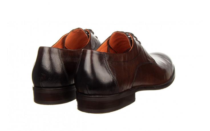 Półbuty john doubare q13e-s45-a77 coffee 104171, brąz, skóra naturalna  - wizytowe - półbuty - buty męskie - mężczyzna 3