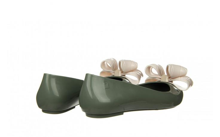 Baleriny melissa sweet love iv ad green beige 010370, zielony, guma 3