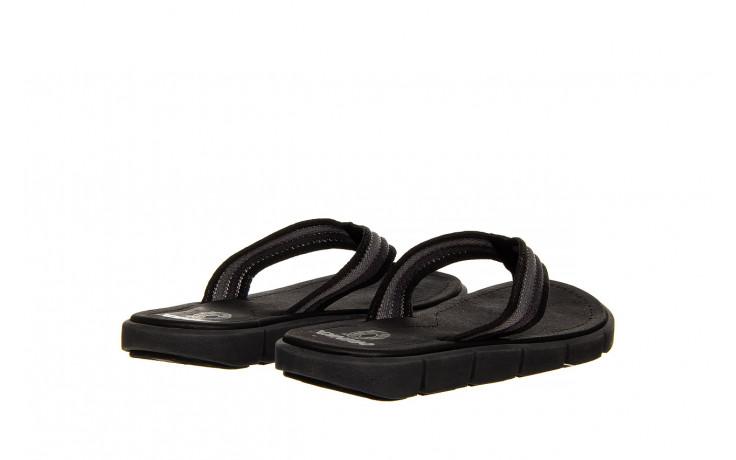 Klapki azaleia 451-op450 black, czarny, materiał  - azaleia - nasze marki 3