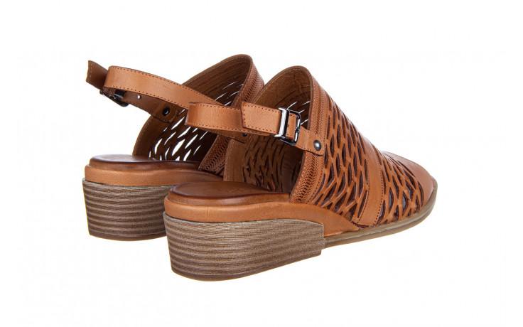 Sandały bayla-161 061 1600 tan 161201, brąz, skóra naturalna  - bayla - nasze marki 3