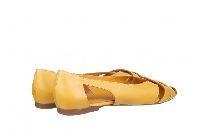 Baleriny bayla-161 138 1560 noce 161221, żółty, skóra naturalna  - bayla - nasze marki 3