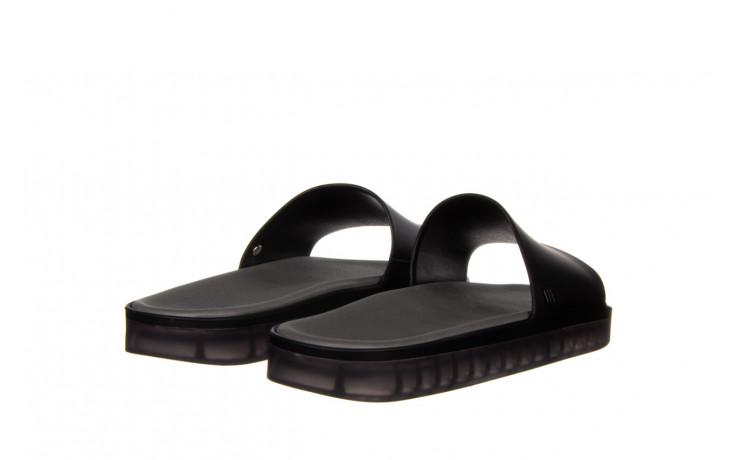 Klapki melissa beach slide next gen ad matte black smoke 010338, czarny, guma - klapki - buty damskie - kobieta 3