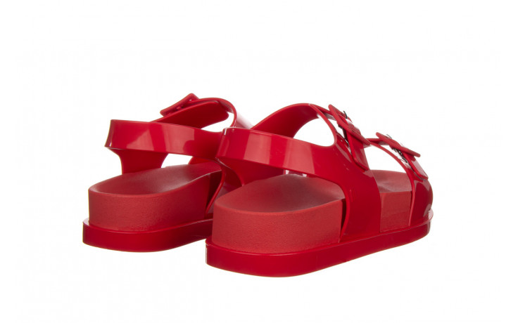 Sandały melissa wide platform ad red 010363, czerwony, guma - nowości 3