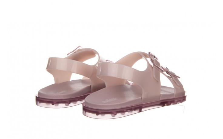 Sandały melissa wide sandal ad lilac 010359, fioletowy, guma - melissa - nasze marki 3