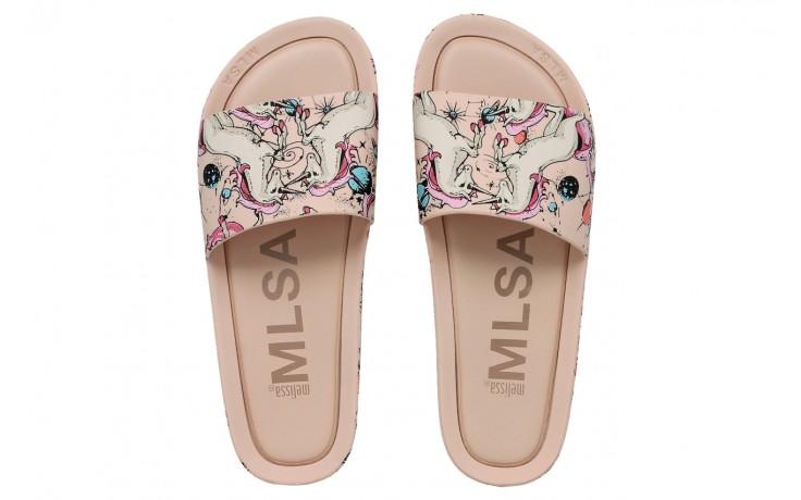 Melissa beach slide 3db rainbow ad pink beige - melissa - nasze marki 1