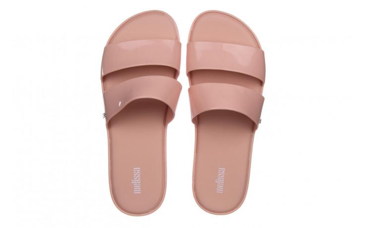 Klapki melissa color pop ad pink 010343, róż, guma - kobieta 4